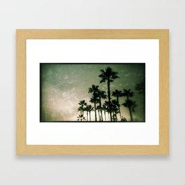 California Nostalgia Framed Art Print