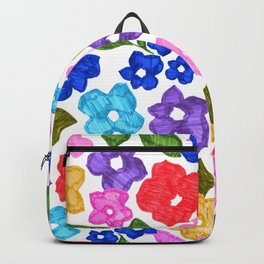 Marker Floral Backpack