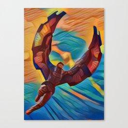 The Falcon Canvas Print