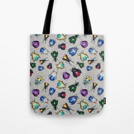 Colorful Mineral Beetles Tote Bag