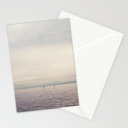 sunset along Lake Constance in Germany ... Stationery Cards