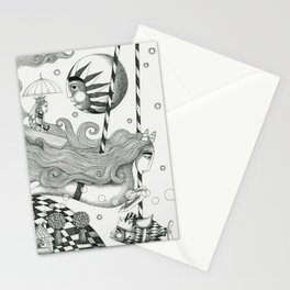 East of Blue Lake Stationery Cards
