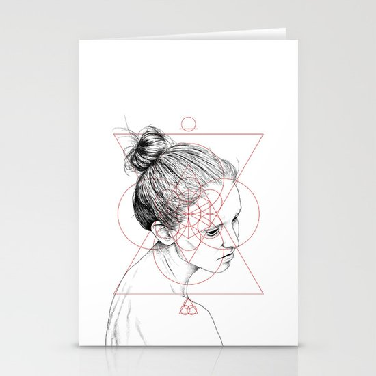 Face Facts II Stationery Cards