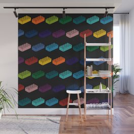 Game Bricks Pattern Wall Mural
