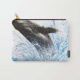 Whale Waves Carry-All Pouch