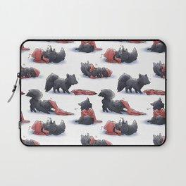Wolf & Hoodie Laptop Sleeve
