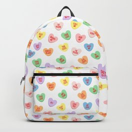 Conversation Hearts Backpack