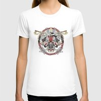fight T-shirts featuring Fight by Red Serpent Art
