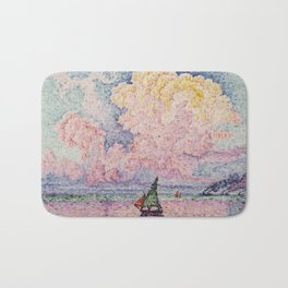 Paul Signac - The Pink Cloud, Antibes Bath Mat