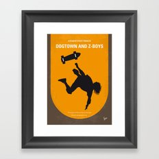 No450 My Dogtown and Z-Boys minimal movie poster Framed Art Print