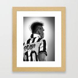 Pogba - Juventus #10 Framed Art Print