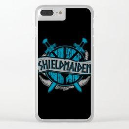 shieldmaiden #3 Clear iPhone Case