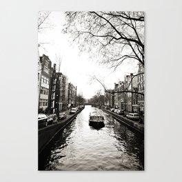 Amsterdam Canals I Canvas Print