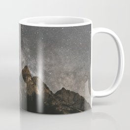 Milky Way Over Mountains - Landscape Photography Coffee Mug