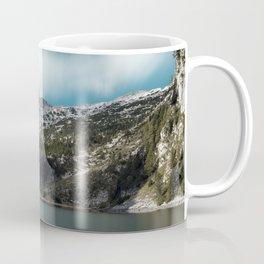 Magnificent lake Krn with mountain Krn, Slovenia Coffee Mug