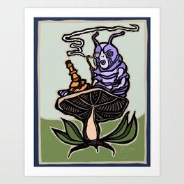 The Caterpillar Art Print