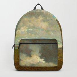 Granville Redmond - Coastal Storm Landscape Oil Painting Backpack