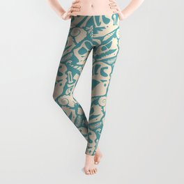 Fossil Pattern Leggings
