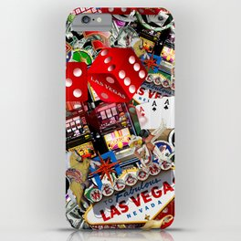 Gamblers Delight - Las Vegas Icons iPhone Case