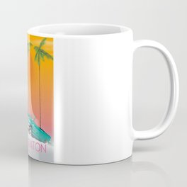 Boca Raton Florida travel poster Coffee Mug