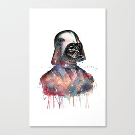 Darth Vader by Splatter Geek Canvas Print
