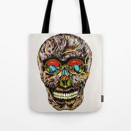 Colorful Skull Tote Bag
