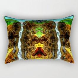 Big waterfall Rectangular Pillow