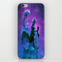 nebula iPhone & iPod Skins featuring Nebula Purple Blue Pink by 2sweet4words Designs