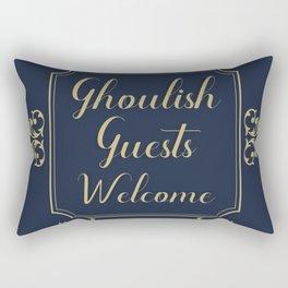 Ghouls Welcome Rectangular Pillow