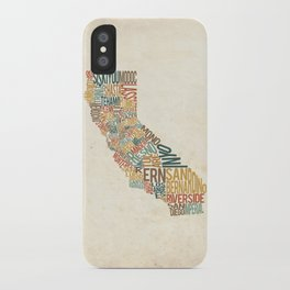 California by County iPhone Case