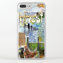 The Midwest Clear iPhone Case