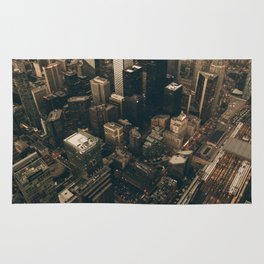 NYC from above - Ariel Image Rug
