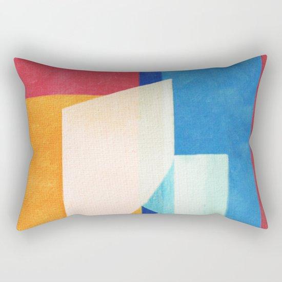 Sailing With Torn Sails Rectangular Pillow