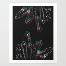 Aura Quartz Art Print