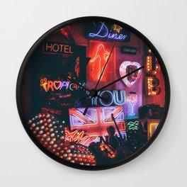 God's Own Junkyard III Wall Clock