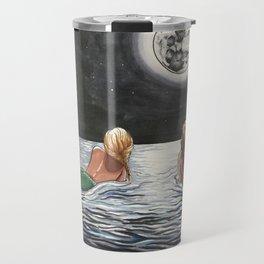 Mermaid Moon Travel Mug