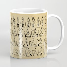 Kung Fu Diagram(Vintage) Coffee Mug