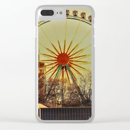 ChristmasFerris Clear iPhone Case
