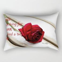 Love Yourself  Merry Christmas Edition Treasure 01 Rectangular Pillow