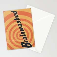 Brainwashed Stationery Cards