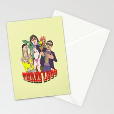 Three Loco Stationery Cards