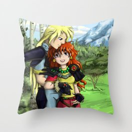 My Treasure Throw Pillow
