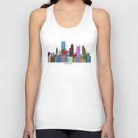 pittsburgh Tank Tops featuring Pittsburgh by bri.buckley