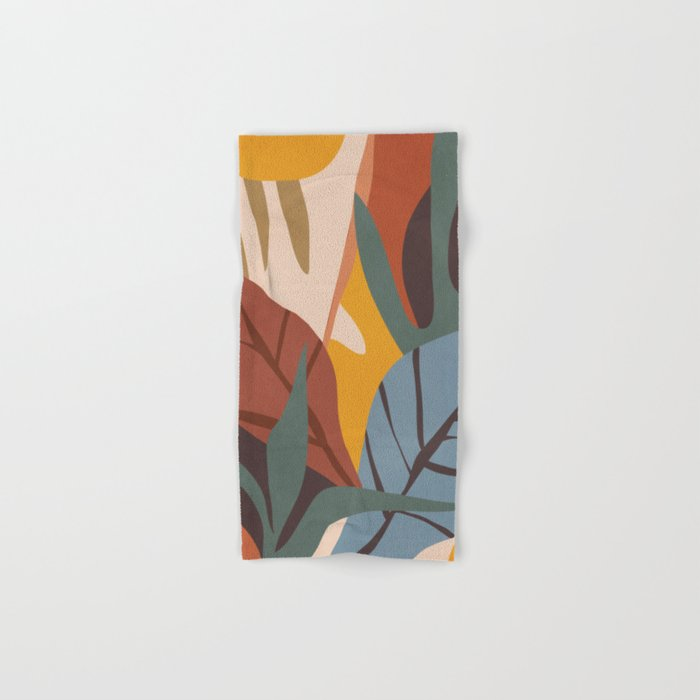 Abstract Art Jungle Hand & Bath Towel