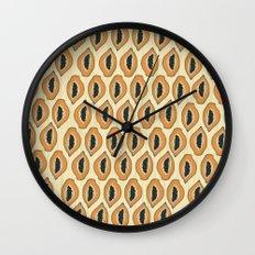 Papayas Wall Clock