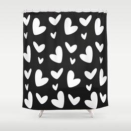 Pure heart Shower Curtain