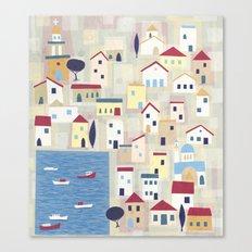 Halki Canvas Print