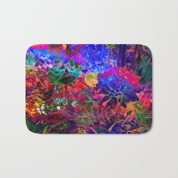 FLORAL DREAM of SUMMER Bath Mat