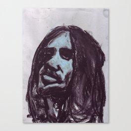 Frusciante in soft pastel Canvas Print