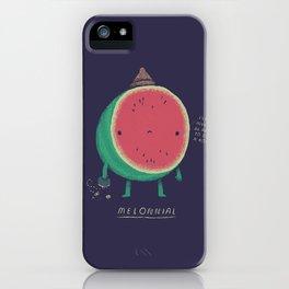 melonnial iPhone Case
